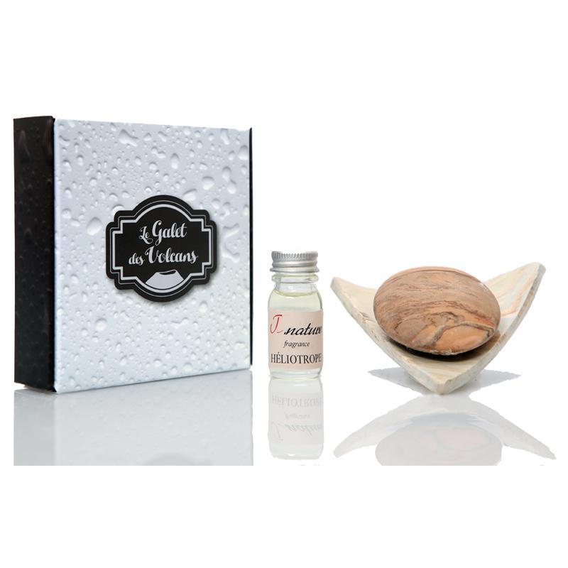 galet senteur d 39 argile diffuseur de parfum galet des volcans. Black Bedroom Furniture Sets. Home Design Ideas