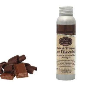 Huile de massage bio au chocolat - 100 ml - Galet des Volcans