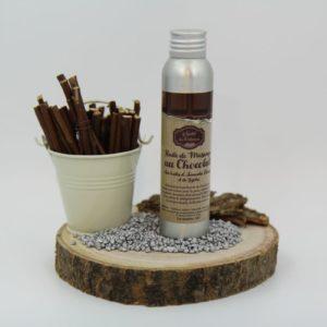 huile massage chocolat