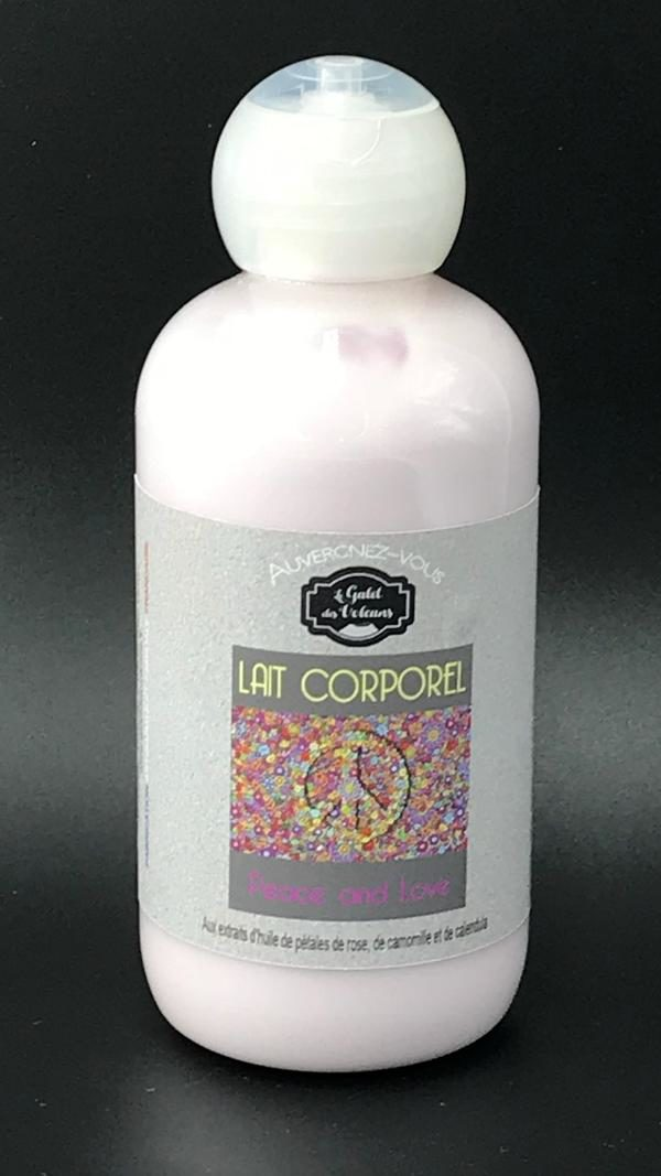 Lait corporel peace and love