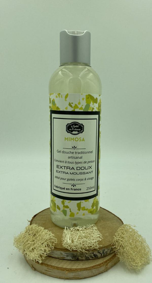 Gel douche artisanal Mimosa
