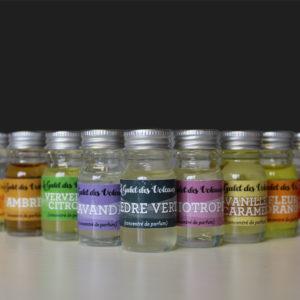 Concentré de parfum cèdre vert