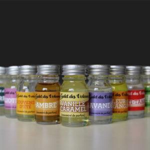 Concentré de parfum vanille caramel