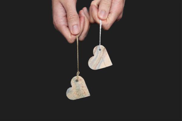 Pendentif coeur diffuseur de parfum